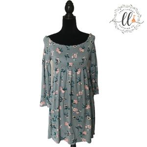 Xhilaration Floral Dress Sz M